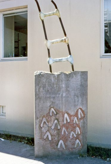 <em>Obelisk B</em>, Steinar Christensen. Fotograf: Nanna Cecilie Brekke