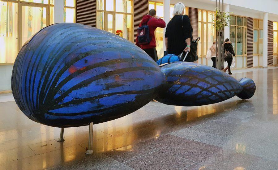 <em>Hår/blå flette</em>, Gunnar Torvund. Fotograf: KORO/Cathrine Wang