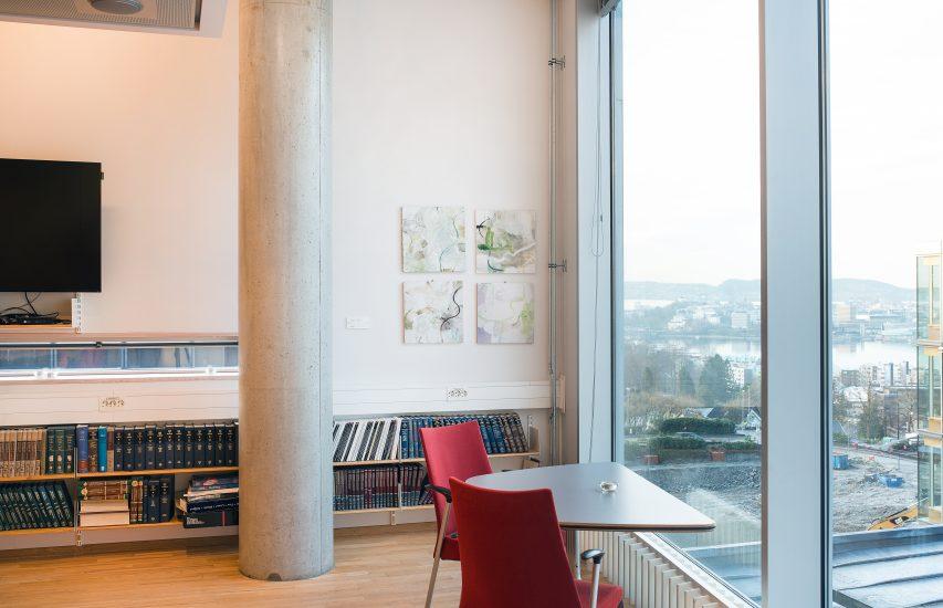 <em>Vintersuite I, V, VI, VII</em>, Therese Christensen. Fotograf: Thor Brødreskift