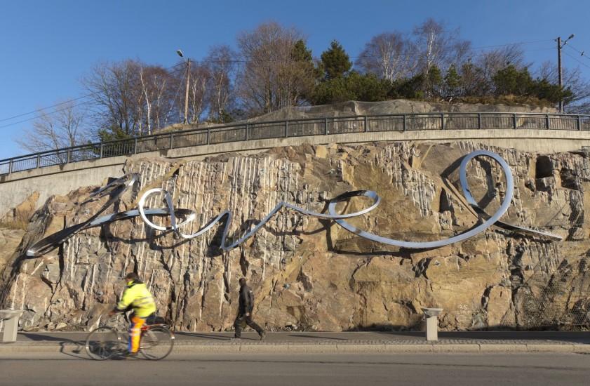 <em>Javel</em>, av Arne Revheim og Finn Eirik Modahl. Fotograf: Werner Zellien