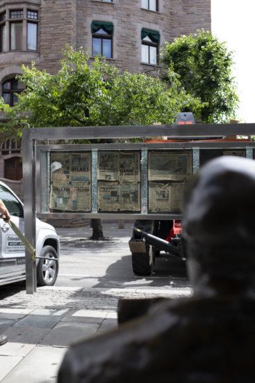 <em>Relocating the past: ruins for the future</em>, Ahmad Ghossein. Fotograf: Alette Schei Rørvik