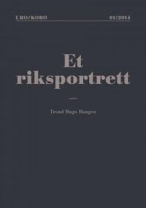 """cover - publikasjon """"riksportrett"""" norsk"""