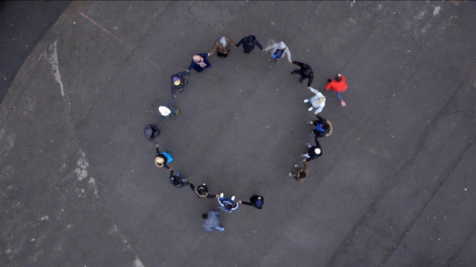 <em>Stillbilde fra video</em>, Mariken Kramer. Fotograf: Werner Zellien