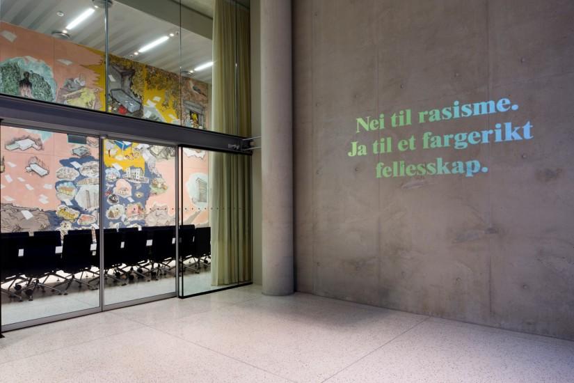 <em>Hundre år på en arbeidsdag</em>, av Kajsa Dahlberg. Fotograf: Trond Isaksen