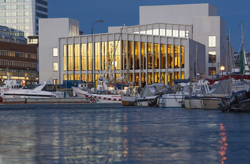 <em>Stormen</em>, Kulturkvartalet i Bodø. Fotograf: Ernst Furuhatt