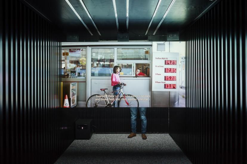 <em>Mobil Egress</em>, Knut Åsdam. Fotograf: Damian Heinisch