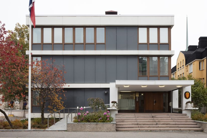 <em>Ambassaden i Helsingfors</em>, Finland. Fotograf: Jussi Tiainen