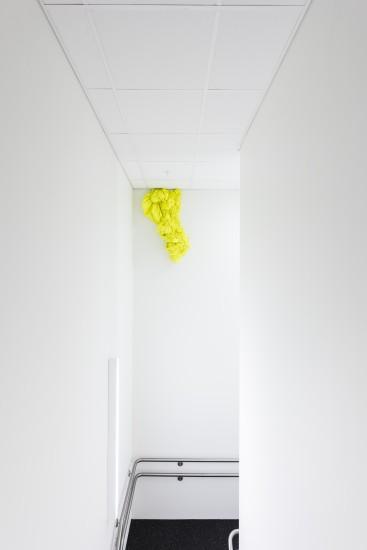 <em>Gul strøm</em>, Hanne Friis. Fotograf: Kjell Ove Storvik