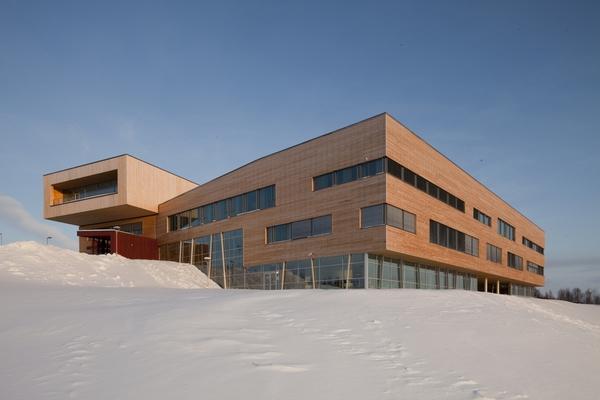 <em>Samisk vitenskapsbygg - Diehtosiidas</em>, Kautokeino, Finnmark. Fotograf: Statsbygg