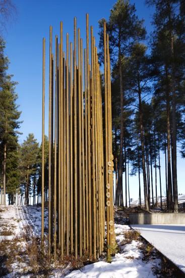<em>Fravær</em>, av May Bente Aronsen og Anders Lian. Fotograf: Trond A. Isaksen