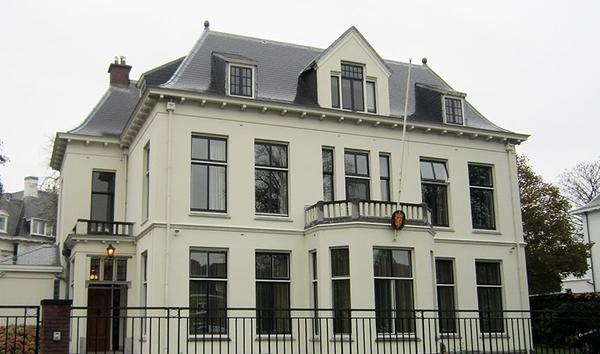<em>Den norske embetsboligen i Haag</em>, Nederland. Fotograf: Statsbygg