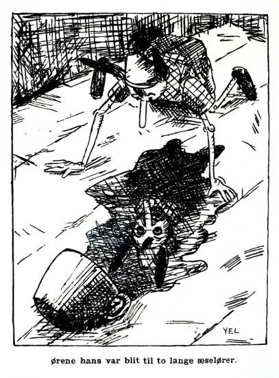 <em>Pinockio og hans forunderlige reise, kap. XXXII</em>, Yngvar Larsen. Photographer: Jiri Havran
