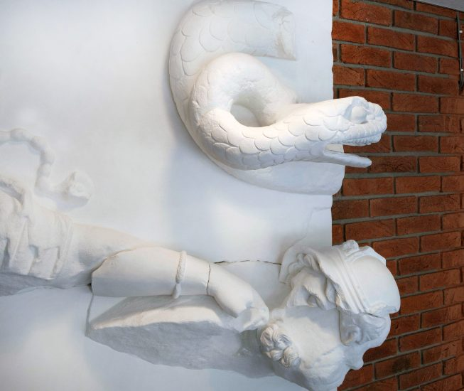 <em>The Living are Governed by the Dead (Serpent)</em>, Marius Engh. Fotograf: Hilde Honerud