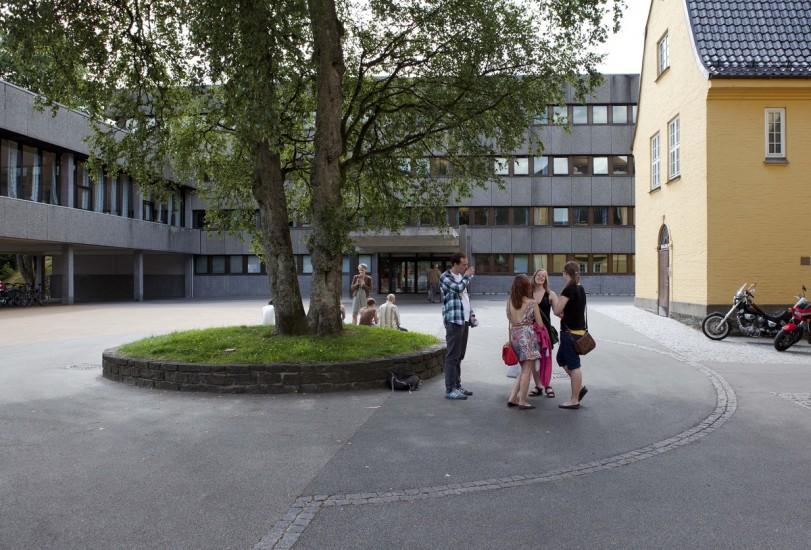 Universitetet i Bergen, Det humanistiske fakultet. Fotograf: KORO