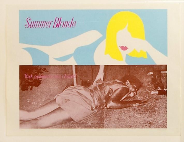 <em>Summer Blonde. Newark 1967</em>, Morten Krogh. Fotograf: Trond A. Isaksen