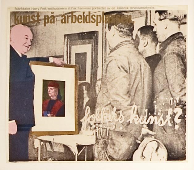 <em>Folkets kunst?</em>, Morten Krogh. Fotograf: Trond A. Isaksen