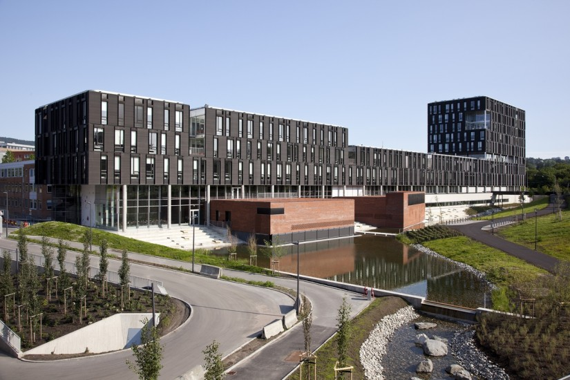 <em>Universitetet i Oslo</em>, Ole-Johan Dahls hus. Fotograf: Statsbygg