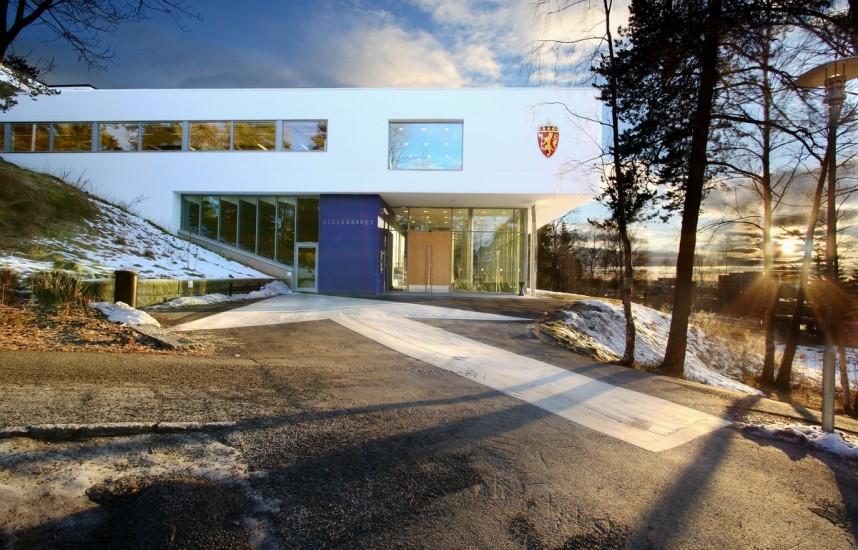 <em>Riksarkivet</em>, Oslo. Fotograf: Werner Zellien