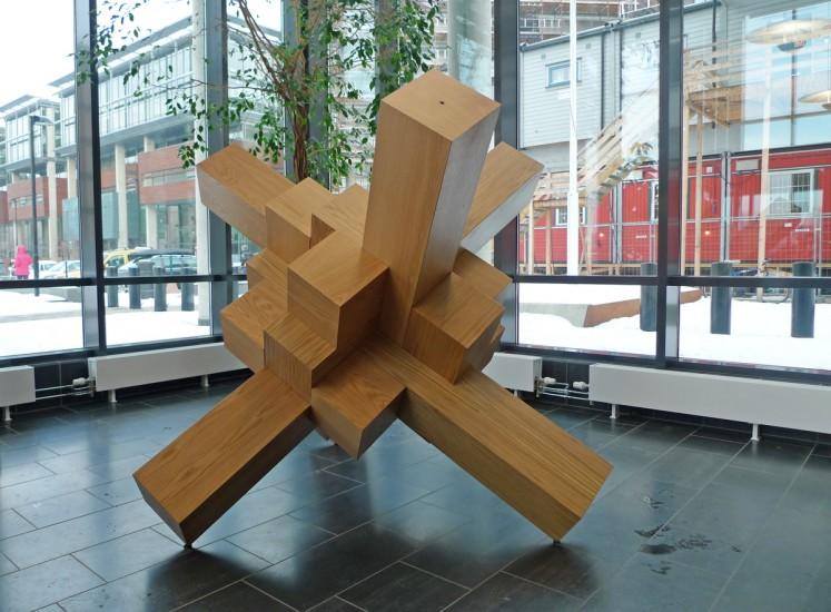 <em>Diamond Cube With Beams</em>, Snorre Ytterstad. Fotograf: Snorre Ytterstad
