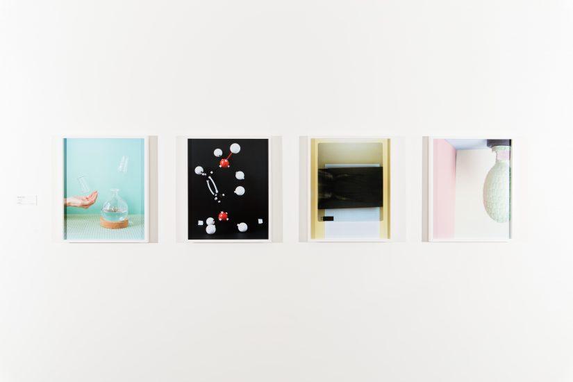 <em>Still Life #4, #5, #6 og #7</em>, Marte Aas. Fotograf: Marius Hauge