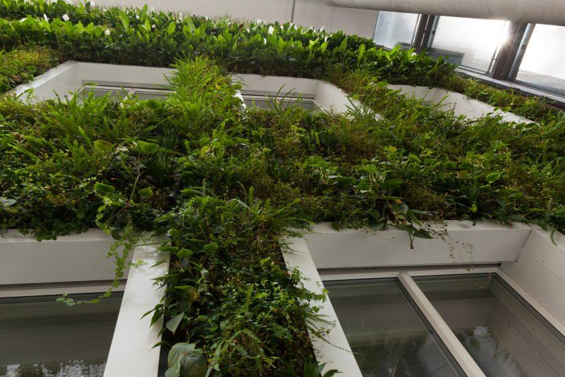 <em>Re:forest (detalj)</em>, Camille Norment og Øivin Horvei. Fotograf: Werner Zellien