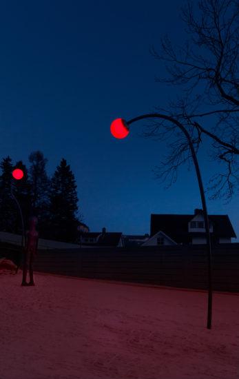 <em>Skulpturparken</em>, Inghild Karlsen, Bo Bisgaard. Fotograf: Werner Zellien