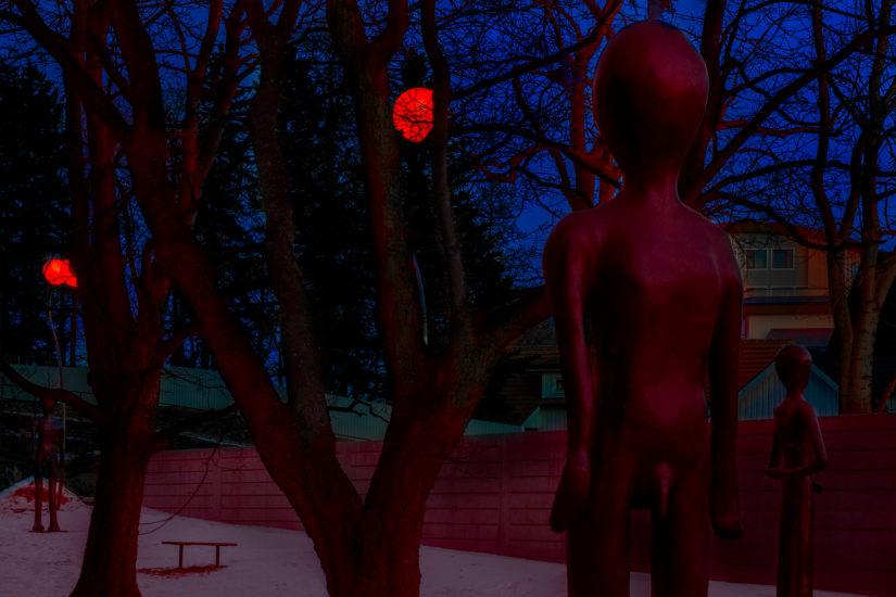 <em>Skulpturparken</em>, Inghild Karlsen, Bisgaard. Fotograf: Werner Zellien