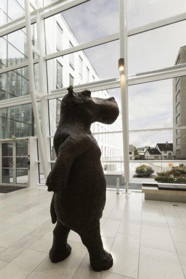 <em>Hippo Erectus</em>, Petter Hepsøe. Fotograf: Werner Zellien