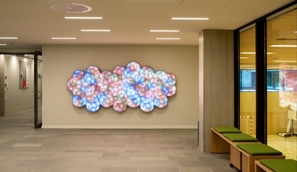 <em>Colour Cloud</em>, Miriam Sleeman, Thomas Sloan. Photographer: Pål Hoff