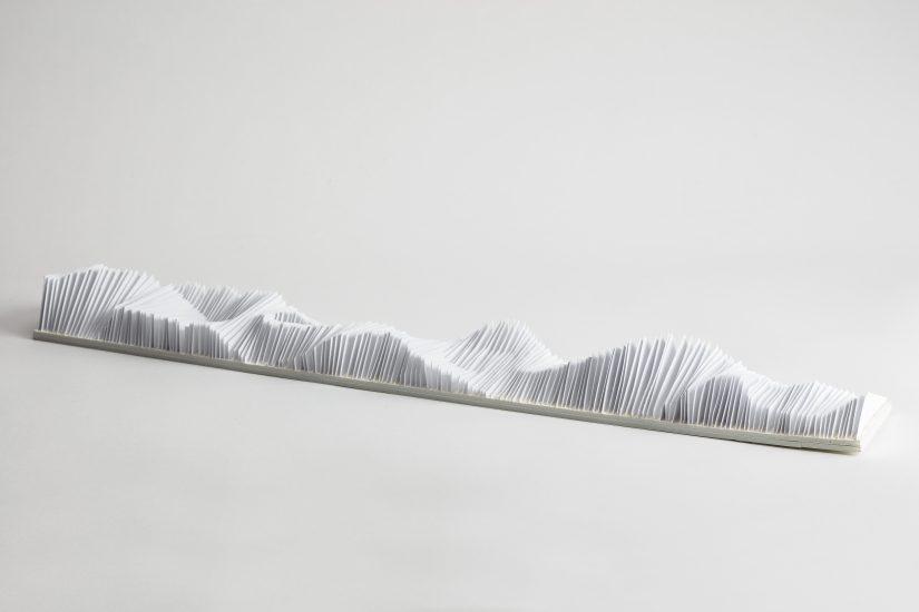 <em>May Bente Aronsen</em>, brettet papir, 2009. Photographer: Vegard Kleven