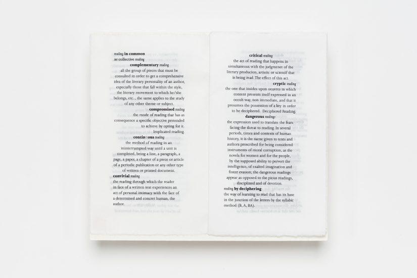<em>Raquel Maia Marques</em>, laserprint på japansk rispapir 70 gr., 2013. Photographer: Vegard Kleven