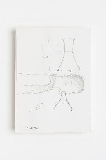 <em>Kurt Johannessen</em>, blyant på papir, 1998. Photographer: Vegard Kleven