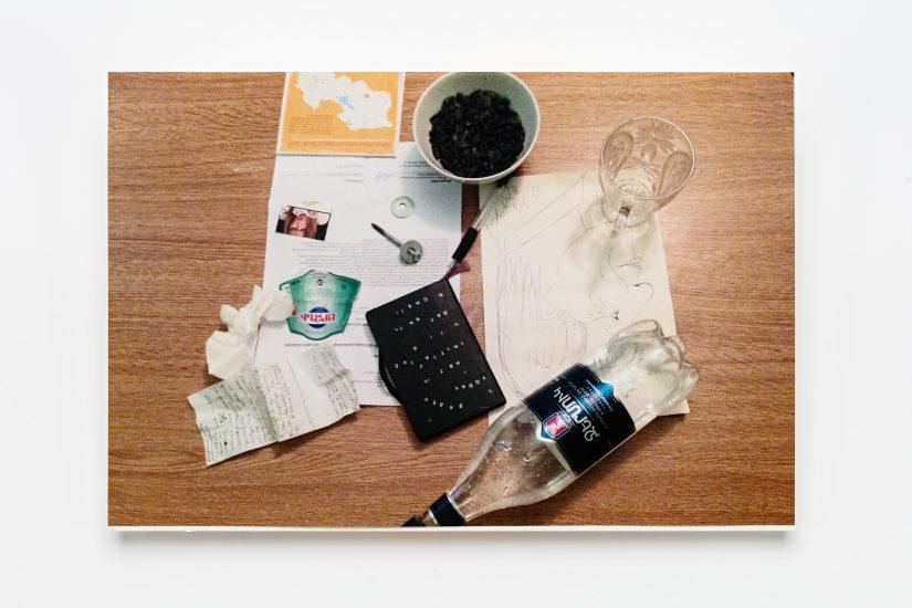 <em>Christiane Lieungh</em>, foto på papir, 2017. Photographer: Vegard Kleven