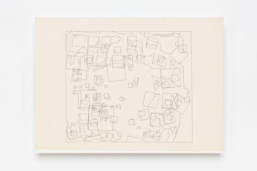 <em>Hilde Skjeggestad</em>, blyant på papir, 1991. Photographer: Vegard Kleven