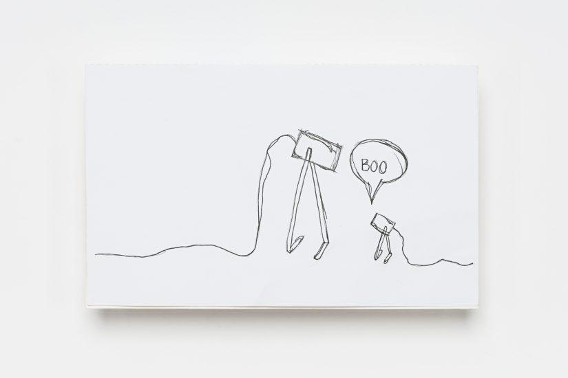 <em>Hedda Torgersen</em>, filtpenn på papir, 2012. Photographer: Vegard Kleven