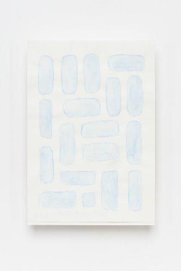 <em>Marit Tunestveit Dyre</em>, akvarellblyant og fuktig pensel på papir, 2016. Photographer: Vegard Kleven