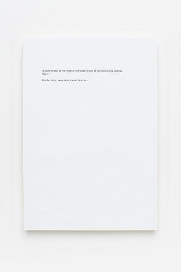 <em>Ane Graff</em>, print på papir, 2016. Photographer: Vegard Kleven