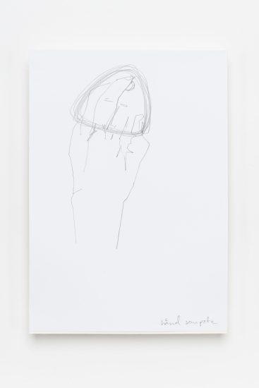 <em>Benedicte Clementsen</em>, blyant på papir, 2013. Photographer: Vegard Kleven