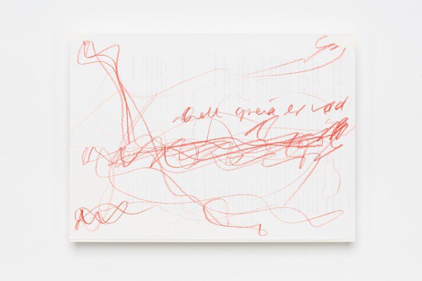 <em>Mari Slaattelid</em>, blyant på papir, 2016. Photographer: Vegard Kleven