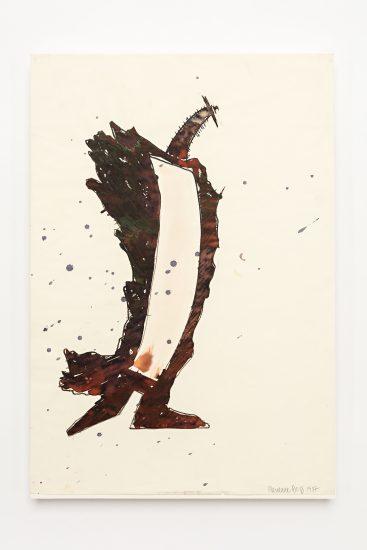 <em>Marianne Berg</em>, flytende tusj på papir, 1987. Photographer: Vegard Kleven