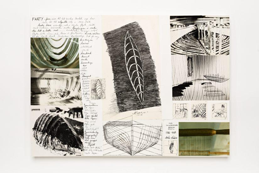 <em>Marta Nerhus</em>, collage, 1986-88. Photographer: Vegard Kleven