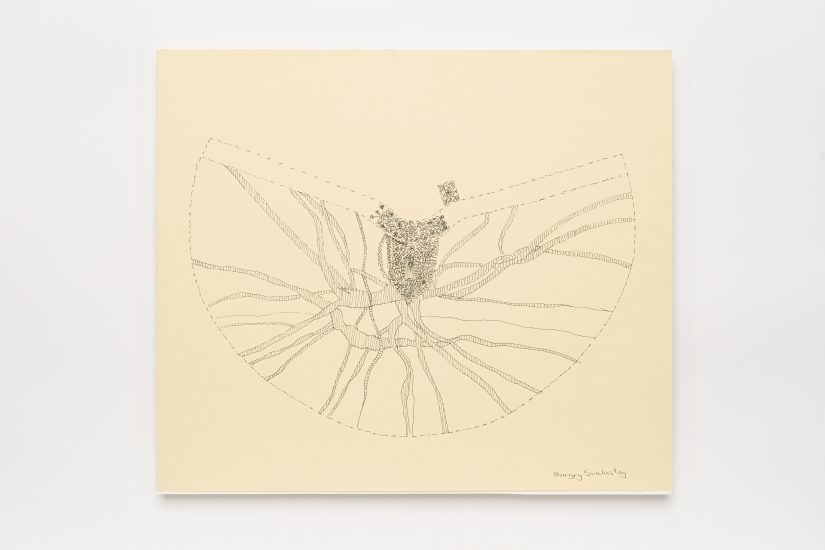 <em>Borgny Farstad Svalastog</em>, blyant på papir, 2012. Photographer: Vegard Kleven