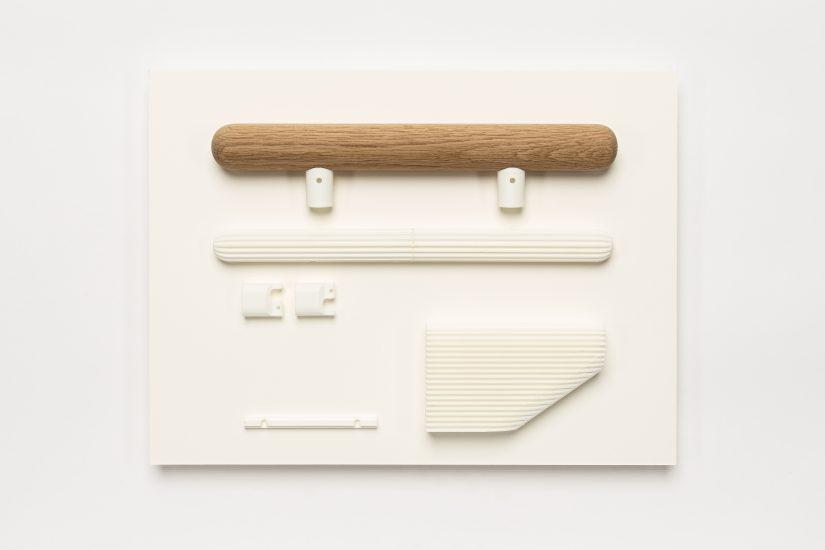<em>Lars Tornøe</em>, eik og 3D-printet PLA, 2016. Photographer: Vegard Kleven