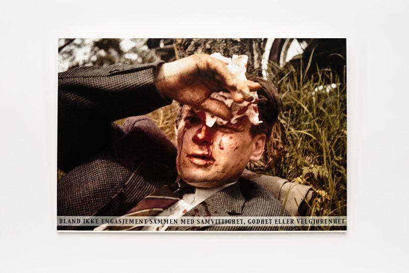 <em>Bård Ask</em>, offsettrykk, 2000. Photographer: Vegard Kleven