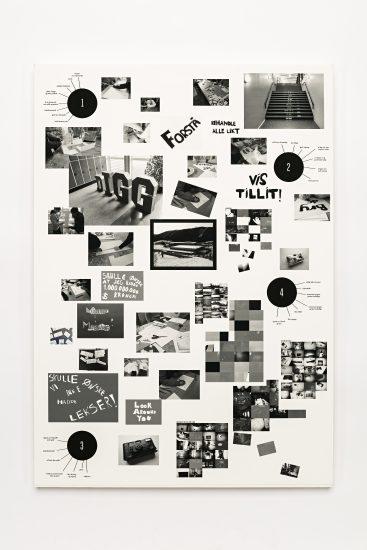 <em>Sunniva Storlykken Helland</em>, collage, 2011. Photographer: Vegard Kleven