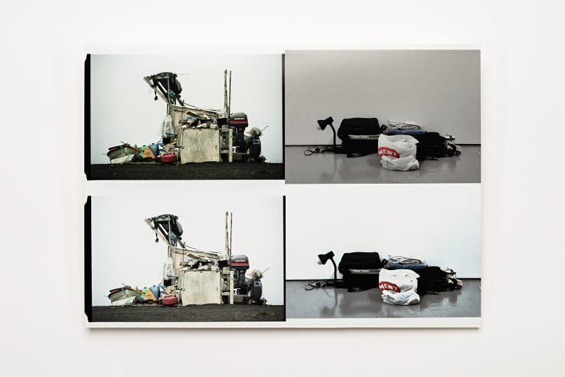 <em>Sabine Popp</em>, foto på papir, 2012. Photographer: Vegard Kleven