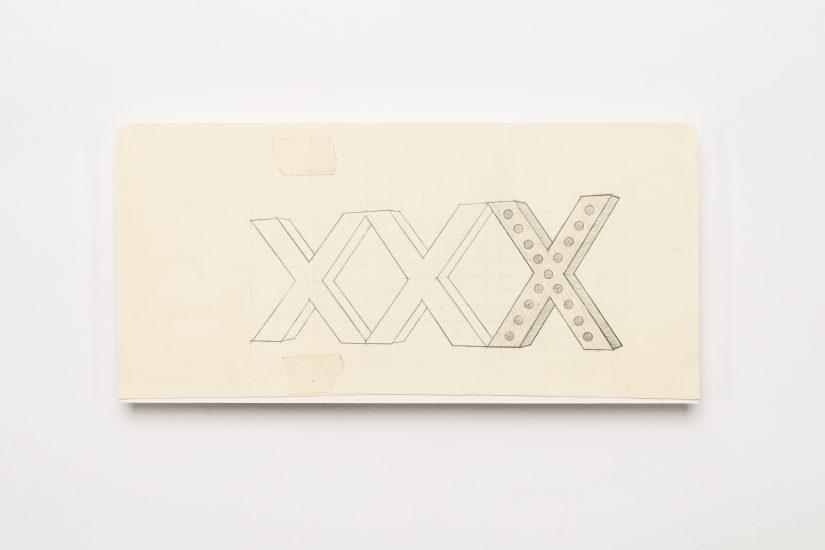 <em>Gardar Eide Einarsson</em>, blyant, fargestift og tape på papir, 2015. Photographer: Vegard Kleven