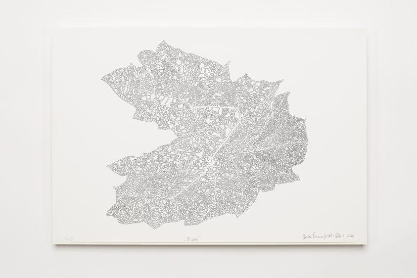 <em>Bente Sommerfeldt-Colberg</em>, print på papir, 2016. Photographer: Vegard Kleven