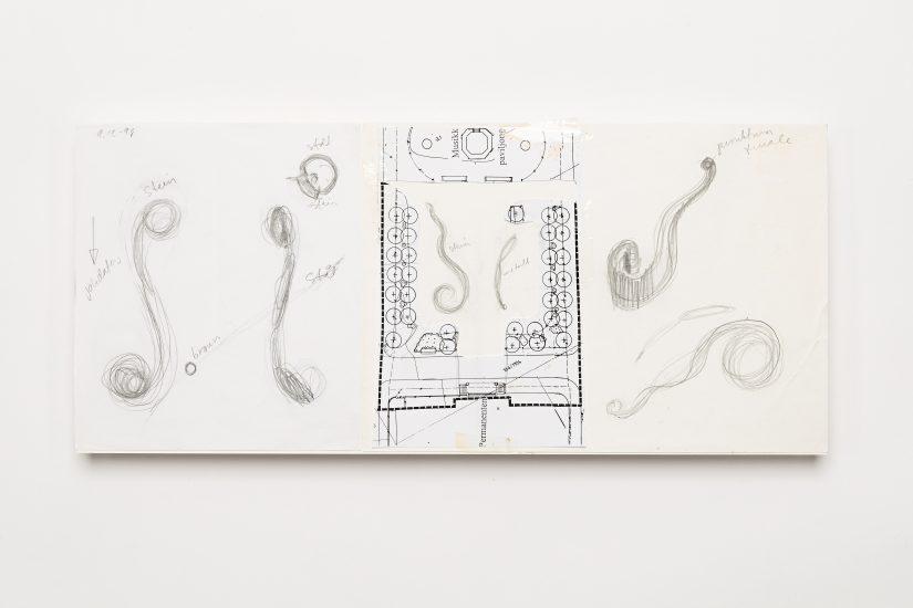 <em>Suvi Tuulikki Nieminen</em>, blyant og kopipapir på papir, 1998. Photographer: Vegard Kleven