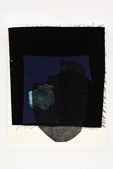 <em>Gunvor Nervold Antonsen</em>, tekstilcollage, 2013. Photographer: Vegard Kleven